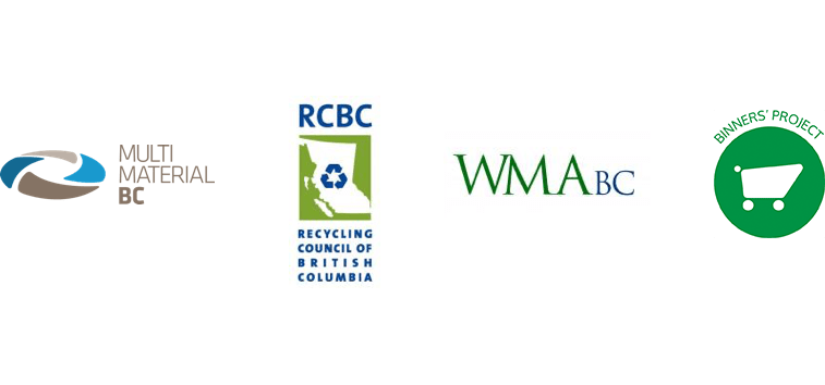 Recycling Council of British Columbia, Waste Management Association of British Columbia, Binners' Project