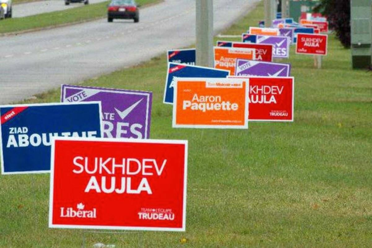 Soft plastic election signs to be recycled