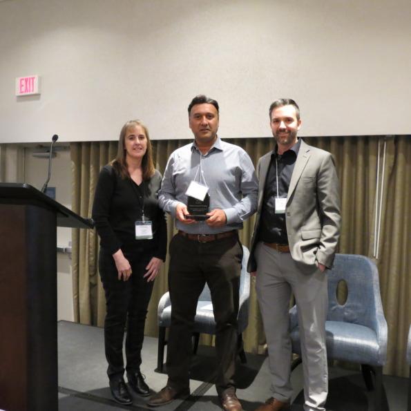 Allan receives environmental awareness award for wcs